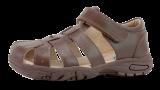 Surefit_school sandal_Taylor_brown
